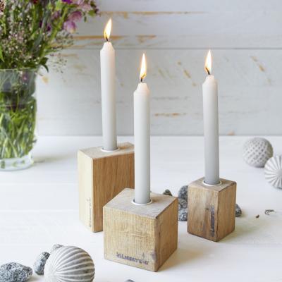 Kerzenständer Eiche