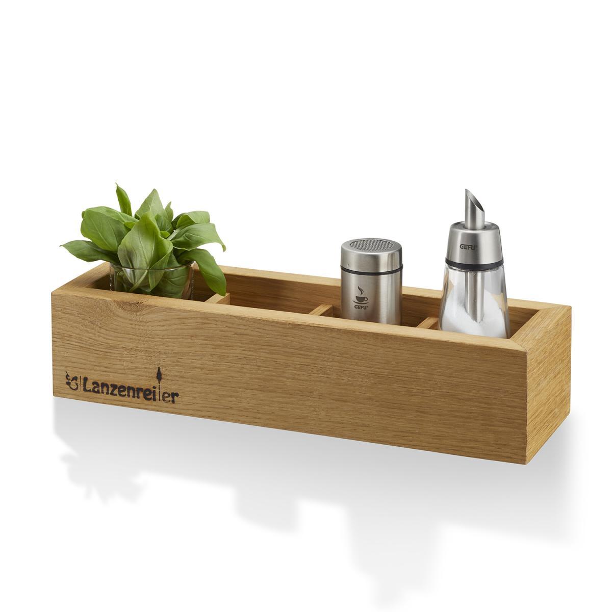 Deko-Kiste 4 Fächer, Beispielbild